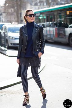 Ece Sukan Street Style Street Fashion Streetsnaps by STYLEDUMONDE Street Style Fashion Photography