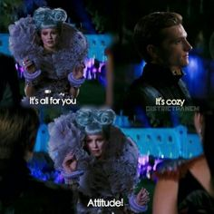 Peeta was hilarious in Catching fire!