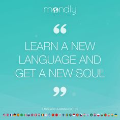 How did knowing a second language impact your life? LIKE & SHARE if you're thankful for it! Learn A New Language, Second Language, Learn Languages Online, New Soul, Learning Quotes, Monday Motivation, Thankful, Free, Education Quotes
