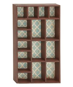 Look at this Wood Wall Shelf on #zulily today!