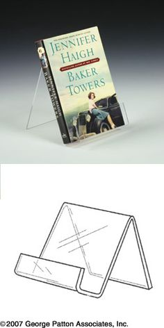 easel for those big books in the gift shops!