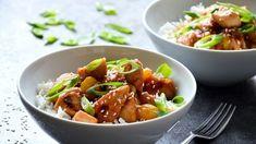 Kure s mangem Kung Pao Chicken, Mango, Good Food, Pork, Tasty, Ethnic Recipes, Sweet, Vietnam, Manga