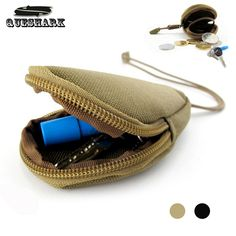 Outdoor EDC Wallet Coin Purses Pouch Bicycle Key bags Military Fans Tactical Hunting Camo Vice Bags Keychain Case Zipper Pocket