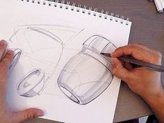 In this video Marouane Bembli aka TheSketchMonkey shows his technique for kickstarting creative ideas and overcome the fear of starting from a blank page. Design Tutorials, Design Process, Designs To Draw, Sketches, Creativity, Drawings, Car, Fresh, Automotive Upholstery