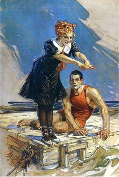 ❤ - J.C. Leyendecker - 1909