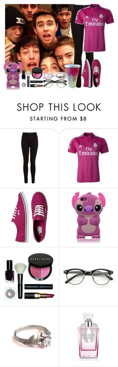 """""""Meet Magcon Boys for the First Time !"""" by assia-mouaqk ❤ liked on Polyvore featuring Miss Selfridge, Vans, Disney, Bobbi Brown Cosmetics and Victoria's Secret"""