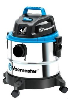 VQ407S - The Vacmaster 4 Gallon, 3 Peak HP Stainless Steel Wet/Dry Vac, is a powerful and durable solution for heavy-duty cleaning of virtually any space.
