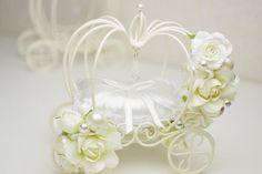 シンデレラ気分で♪かぼちゃの馬車・ウェディングリングピロー・ブライダルホワイト Wedding Gifts For Bride, Bride Gifts, Diy And Crafts, Paper Crafts, Quilling, Wedding Reception, Orchids, Cinderella, Wedding Photography