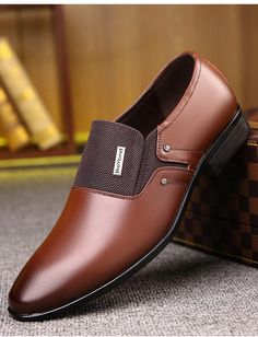 Zapatos De Vestir De Hombre Moda Zapato Formales Calzados Para Hombres Elegante