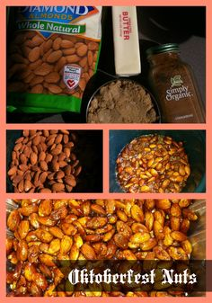 You can make Oktoberfest Nuts in your Crockpot!  They are very tasty and much less expensive than buying them at the event.