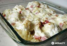 Túrós rakott karfiol Diabetic Recipes, Diet Recipes, Healthy Recipes, Healthy Food, Hungarian Recipes, Hungarian Food, Family Meals, Potato Salad, Cookie Recipes