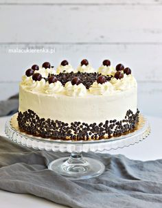 Tiramisu, Cheesecake, Food And Drink, Chocolate, Baking, Ethnic Recipes, Sweet, Impreza, Sweets