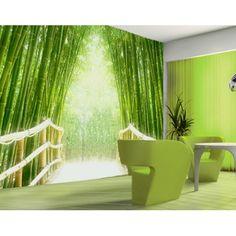 Térhatású bambuszkert óriásposzter #lakasdekoracio #fototapeta #poszter_tapeta #poszter #bambusz