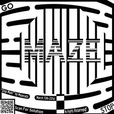 stop maze coloring page