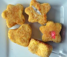 Toddler Perfect Chicken Nuggets: seems like a process that would disgust me but it makes sense, I think kids would like it and it's healthier than McDonald's!