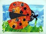 Artsonia Art Exhibit :: Kindergarten Eric Carle Inspired Ladybugs