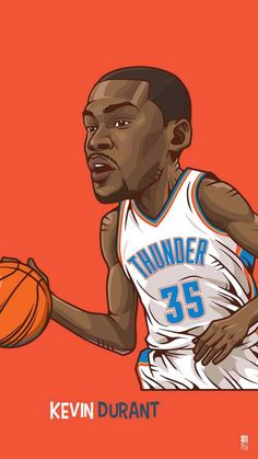 Kevin Durant Wallpaper Iphone - Fitness and Exercises, Outdoor Sport and Winter Sport Nba Basketball, Basketball Pictures, Love And Basketball, Nba Sports, Sports Art, Football, Kevin Durant Wallpapers, Sports Wallpapers, Chibi