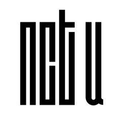 nct u (by MissCatieVIPBekah on deviantart) Nct Logo, Dream Logo, Kpop Logos, Pop Stickers, Lucas Nct, Study Notes, Kpop Groups, Nct Dream, Logo Design