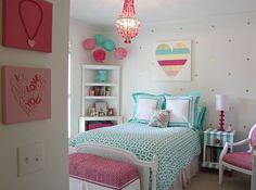 Brillante y audaz renovación del dormitorio de la muchacha. Varios proyectos de bricolaje de la diversión. La Creatividad Cambio: