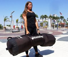 Meet the Rhino Bag: a over-sized bag that lets you perform challenging exercises to build strength in your muscles. It lets you perform flips, deadlift, shouldering, shoulder to press, and other moves. It has two padded handles, so you can work the bag conveniently. You can use the bag to perform strongman exercises in a …