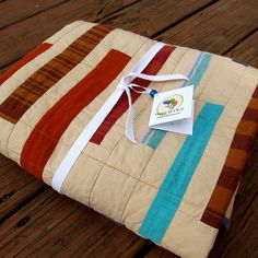 baby quilt - love the colors