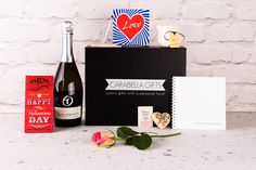 Prosecco, Luxury Gifts, Hamper, Happy Valentines Day, Shop, Store, Basket