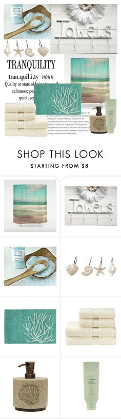 """""""Untitled #174"""" by smooliajw ❤ liked on Polyvore featuring interior, interiors, interior design, home, home decor, interior decorating, Croscill, Christy, Allure Home Creation and Aveda"""
