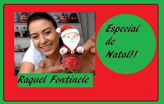 DIY- Pote de Papai Noel - Biscuit - Raquel Fontinele