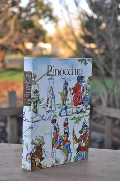 Adventures of PINOCCHIO Book Hardcover Junior Library by BookHoard