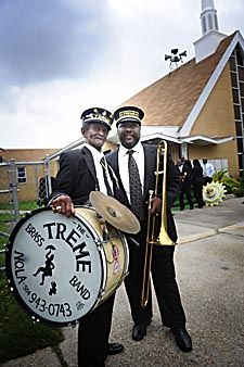 'Uncle' Lionel Batiste and Wendell Pierce - Treme