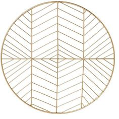 Living & Co Urban Geo Gold Placemat