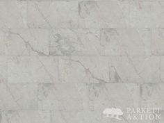 Parkett-Aktion - Vinyl Fliesen Marmor Marble White mit matter Struktur Oberfläche - Vinyl Fertigboden mit Klick System