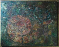 """""""Begin"""" Encaustic oil. Julie Sumerta"""