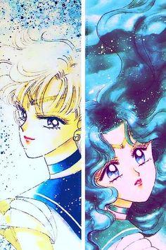 Sailor Uranus & Neptune