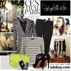 Walking in the city by electric-bird on Polyvore