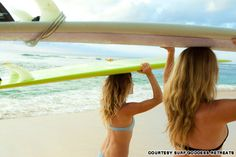 World's girliest hotel getaways: Surf, yoga, chill at Surf Goddess Retreats, Indonesia