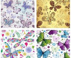 butterfly wallpaper vector