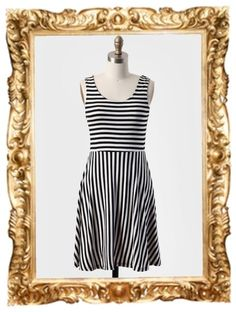 Cary Street Stripes Dress - $34.99 #stripes