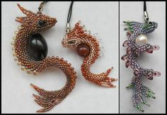 Dragon charms again by Rrkra.deviantart.com on @deviantART