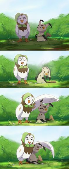I'd like to think Mimikyu sometimes gets distracted and forgets to hide from direct sunlight still have the pokemon hype in me ahh, have you. Pokemon Comics, Pokemon Fan Art, Decidueye Pokemon, Pokemon Stuff, Digimon, Chibi, Art Manga, Cute Pokemon Wallpaper, Image Manga