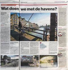 24-02-2018: in 2013 hielden we een thema-avond over de Dordtse wateren. Super dat er nu beleid komt voor alle Dordtse Havens! Vandaag een mooi groot artikel hierover in AD De Dordtenaar!