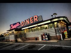 Olympia Diner - A town establishment. Has been around for over 50 years and located on the Berlin Turnpike. - Newington, CT #MyHometownPins   Photo: Dave Williams/Flickr  The Olympia Diner, on the Berline Turnpike...