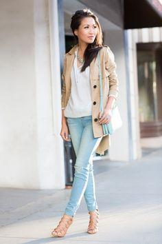 Coole Looks zum Nachstylen: für kleine Frauen - jetzt auf  http://www.gofeminin.de/styling-tipps/styling-tipps-fur-kleine-frauen-s404029.html #petite #sweet #justperfect #stylingtipps #style #fashion #stylingtipps #kleinefrauen #nachstylen