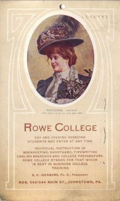Vintage Johnstown: Rowe College