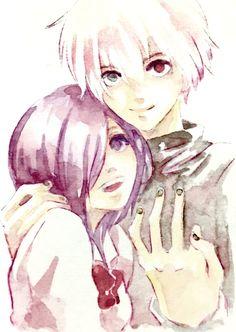 Kaneki and Touka // TG                                                                                                                                                                                 More