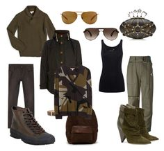 """Untitled #296"" by tam-west on Polyvore featuring Gucci, Smith Optics, Club Monaco, Frye, Barbour, A.P.C., Lanvin, Alexander McQueen, Juvia and 3.1 Phillip Lim"