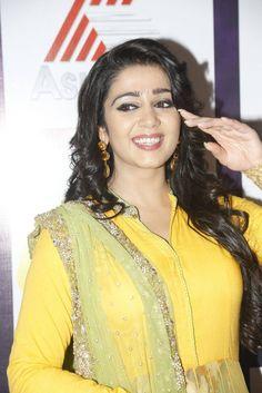 Charmi Stills At Mirchi Music Awards - Celebrity Beauty Tips