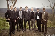wedding 20's style groom