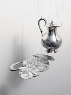 Teapot, Cornelia Parker, 2008.