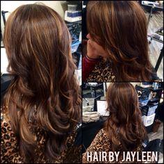 Carmel highlights, brown